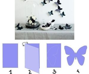 diy, butterfly, and black image