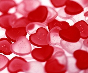 candy, red, and heart image