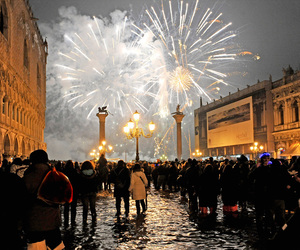 fireworks and venice image