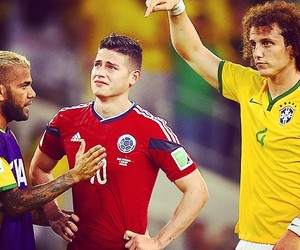 colombia, james rodriguez, and brasil image