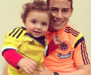 james rodriguez, salome, and james image