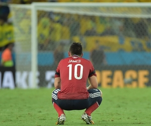 colombia, brazil soccer, and james rodriguez image