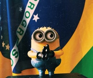 minions, brazil, and comment image