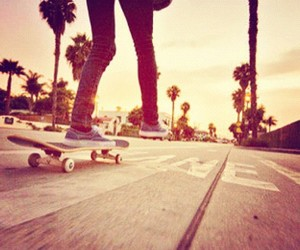 skate, skateboard, and summer image