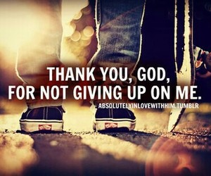god, thank you, and quote image