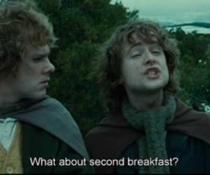 breakfast, the lord of the rings, and indie image