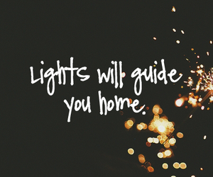 lights, home, and quote image