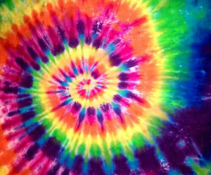 tie dye, colorful, and hippie image