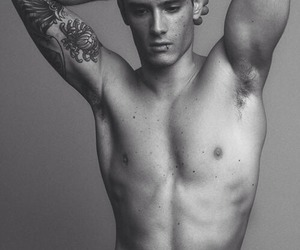 Hot, tattoo, and model image