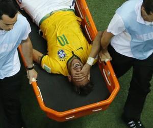 brazil, neymar, and injured image