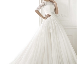 bridal dresses, bride dresses, and lace wedding dresses image