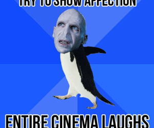 voldemort, funny, and cinema image