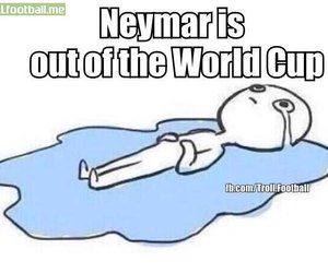 neymar, world cup, and brazil image