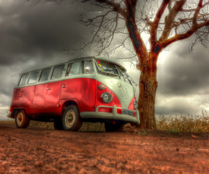 car, red apple, and journey image
