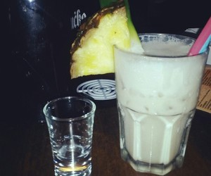 alcohol, pina colada, and cocktail image