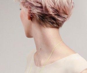 short hair, hair, and hairstyle image