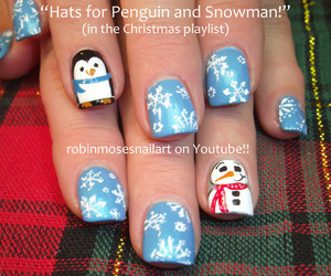 nail art and winter image