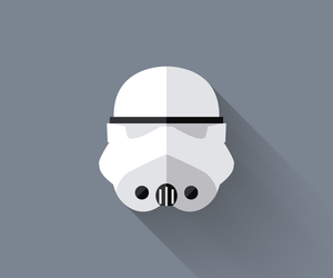 star wars, icon, and stormtrooper image