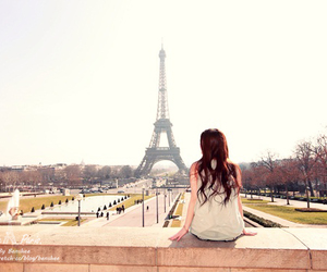 asian, paris, and photoshoot image