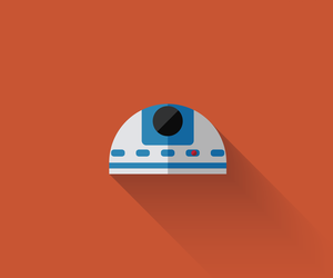 icon, colorful, and star wars image