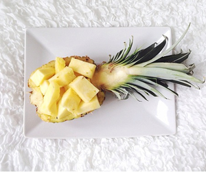 breakfast, fruit, and pineapple image