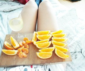 breakfast, fruit, and girl image