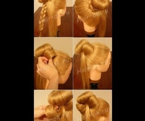 cool, hair, and sweet image