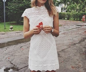 model, dress, and sonya image