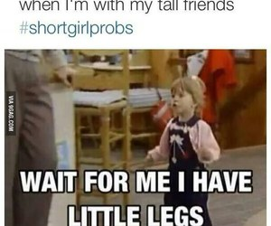 funny, friends, and short image