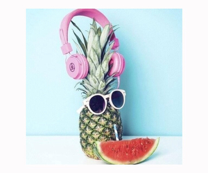 cool, drink, and fruit image