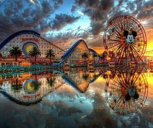 disney, california, and disneyland image