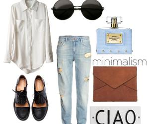 bag, blouse, and classic image
