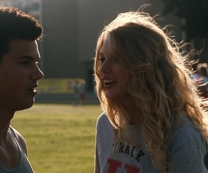 couple, Taylor Lautner, and Taylor Swift image