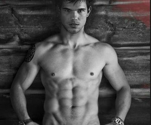 guy, Taylor Lautner, and love image