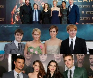crepusculo, harry potter, and twilight image