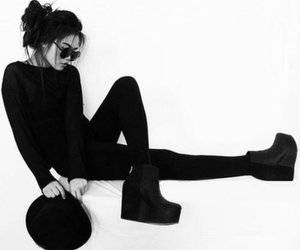 black, girl, and fashion image