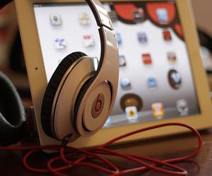 apple, beats, and headphones image