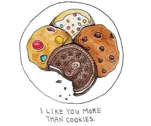 Cookies, love, and food image