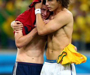 david luiz, brazil, and colombia image