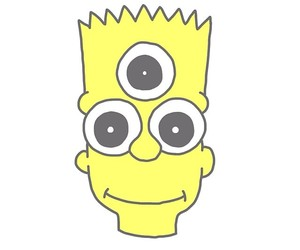 bart simpson, overlay, and bart image