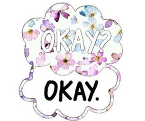 okay? okay., the fault in our stars, and tfios image