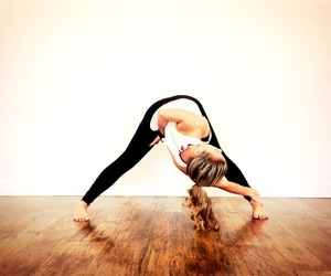 beauty, fitness, and yoga image