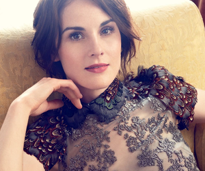 downton abbey, michelle dockery, and lady mary image