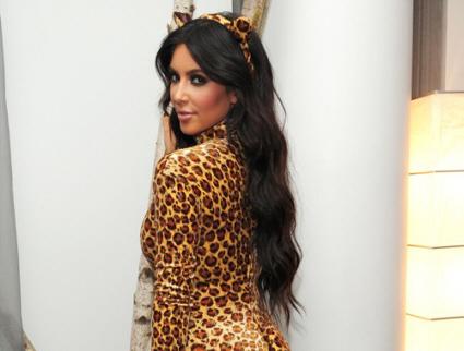 sc 1 st  We Heart It & Kim Kardashian Dons Leopard Costume for Halloween | Myspace