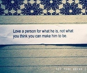 love, quote, and person image