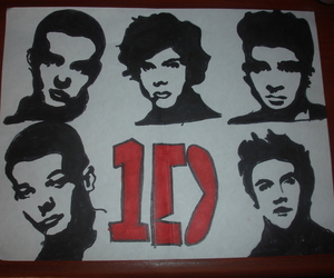 1d and drawing one direction image