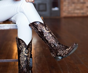 boots, cowboy boots, and design image