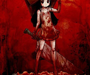 anime, blood, and gore image