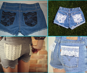 diy, crafts, and lace image