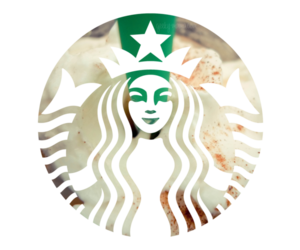 coffee, green, and starbucks image